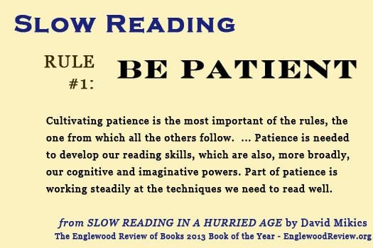 What is Slow Reading?