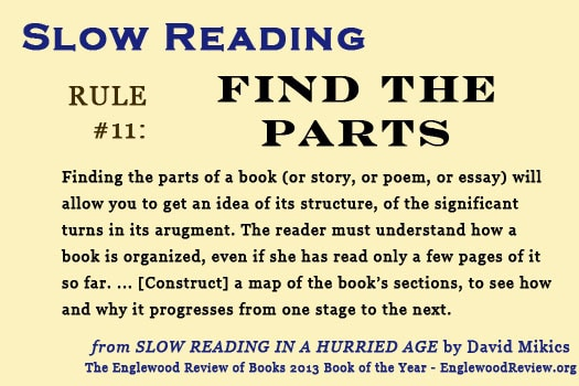 Slow Reading-Rule 11