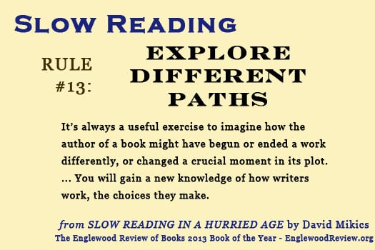 Slow Reading-Rule 13