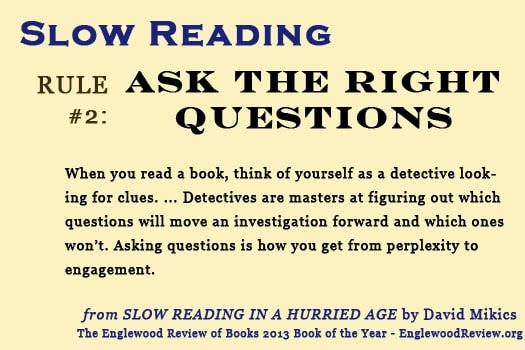 Slow Reading-Rule 2