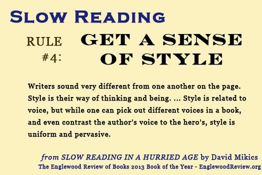 Slow Reading-Rule 4