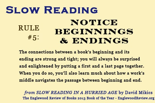 Slow Reading-Rule 5
