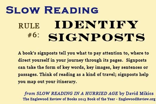 Slow Reading-Rule 6