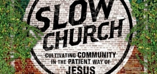 Slow church-Banner