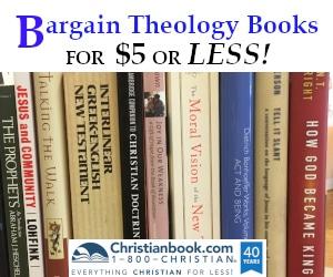 Bargain Theology Books